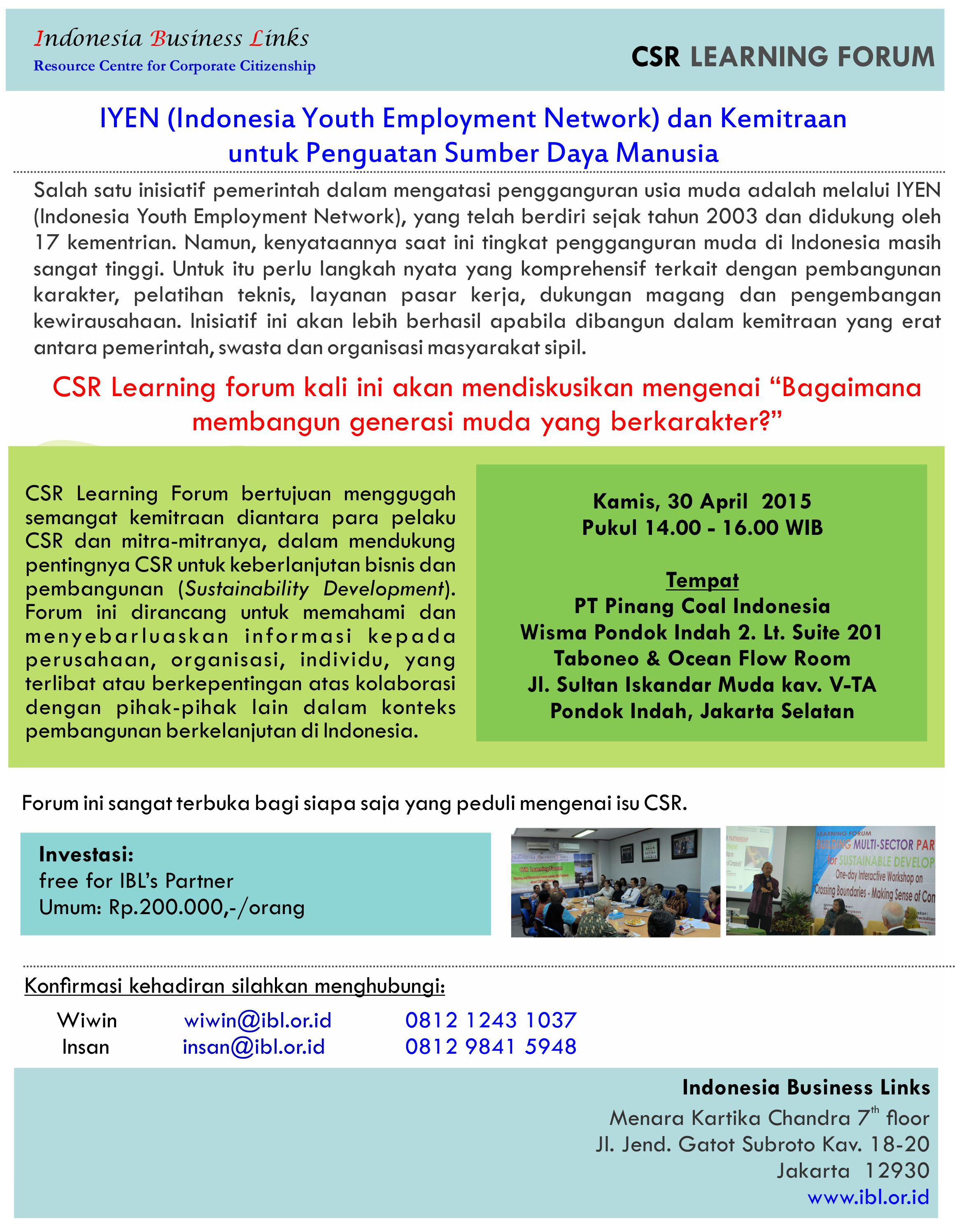 youth empowerment learning forum