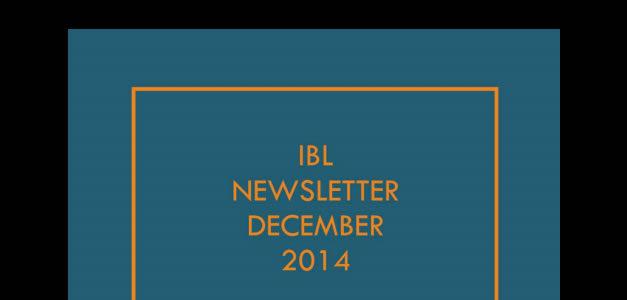 E-Newsletter December 2014