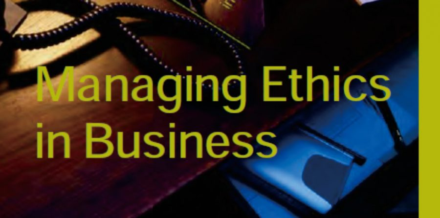 Managing Ethics in Business (English)